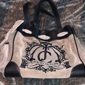 Gray Juicy Couture Tote